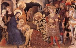 Gentile da Fabriano - L' adorazione dei Magi