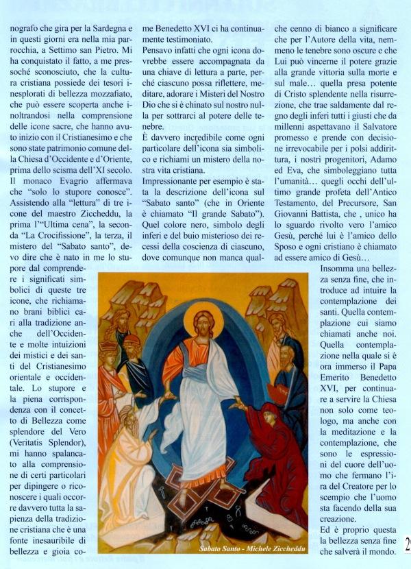 Maestro Ziccheddu - Icona del sabato santo