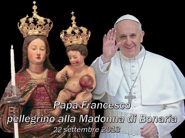 Papa Francesco a Bonaria | Anna Vercors